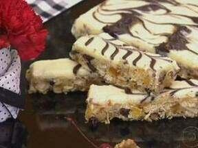 Prensado de Frutas Com Chocolate - Foto de Mais Você na TV