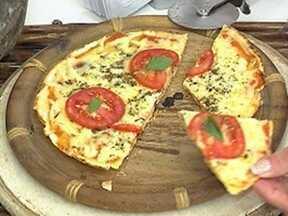 Massa de Pizza de Pão de Queijo - Foto de Mais Você na TV