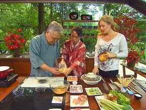 Espetinhos japoneses do chef Isao Ohara