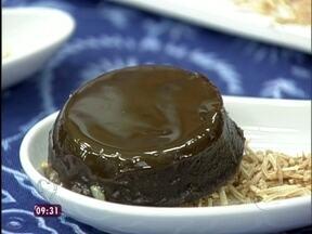 Quindim de Chocolate (Quindão - Foto de Mais Você na TV