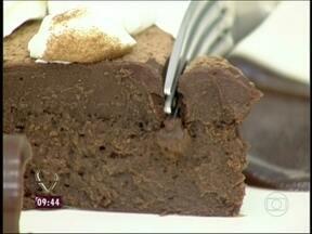 Musse de Chocolate - Foto de Mais Você na TV