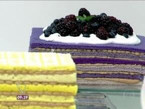 Naked Cake - Foto de Mais Você na TV