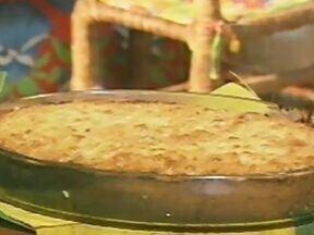 Bolo à Brasileira - Foto de Mais Você na TV