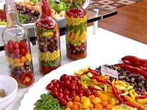 Conserva de Pimentas - Foto de Mais Você na TV