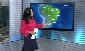 Confira a previsão do tempo para todo o Brasil nesta quarta-feira (26)