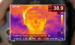 Teste revela que temperatura do corpo pode passar de 52ºC