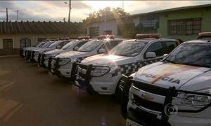 Viaturas da polícia estão paradas por causa de burocracia em Brasília