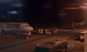 Apagão interrompe pousos e decolagens no Aeroporto Internacional de Cuiabá