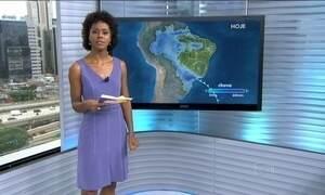 Pode chover entre nordeste de Santa Catarina e leste de São Paulo