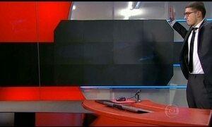 Homem armado invade estúdio de TV na Holanda