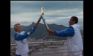 Cerca de 10 mil pessoas vão participar do revezamento da tocha olímpica