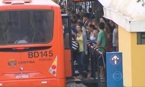 Termina greve de rodoviários em Curitiba