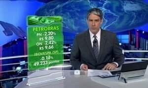 Ações da Petrobras oscilam e fecham em queda de mais de 2%