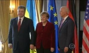 Líderes europeus tentam encontrar saída para conflitos na Ucrânia