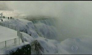 Nevasca avança para o sul dos Estados Unidos