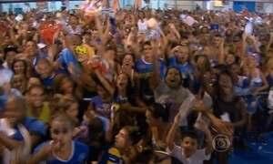 Beija-Flor conquista o título de campeã do Carnaval do Rio de Janeiro