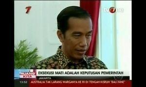 Presidente da Indonésia critica interferência estrangeira em execuções