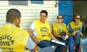 MP pede que a greve da Polícia Civil no Tocantins seja declarada ilegal