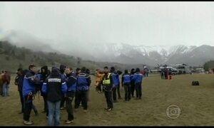 Avião A-320 cai na França e deixa 150 mortos