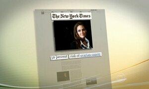 Angelina Jolie faz cirurgia preventiva e retira ovários e trompas de falópio