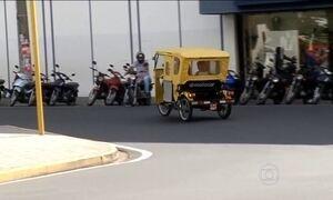 Meio de transporte da Ásia e América Central faz sucesso no interior de SP