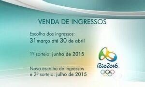 Começa a escolha de eventos para os Jogos Olímpicos do Rio 2016