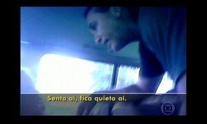 Motorista de van escolar é flagrado batendo em criança no interior de SP