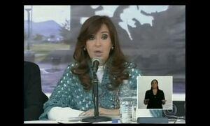 Cristina Kirchner pede identificação de mortos na guerra das Malvinas