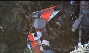 Polícia começa a ouvir testemunhas de acidente de helicóptero