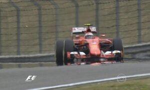 Treino vai definir o grid de largada para o GP da China