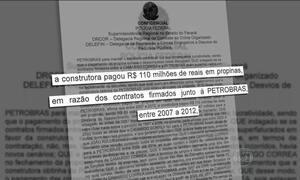Executivo admite pagamento de R$ 110 milhões a diretores da Petrobras
