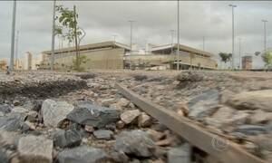 Arena Pantanal, em Cuiabá, está abandonada