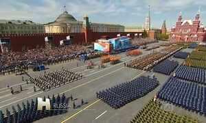 Rússia a comemora 70 anos da vitória sobre os nazistas