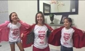 Telespectadores enviam vídeos em homenagem ao Dia das Mães