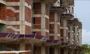 Construção civil demite quase 50 mil funcionários só este ano