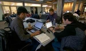 Região dos EUA atrai milhares de jovens empreendedores da internet
