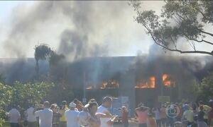 Polícia de SC investiga incêndio em prefeitura