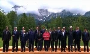 Mudanças climáticas e terrorismo são principais temas discutidos do G7