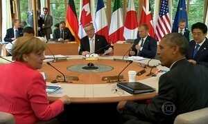 Países do G7 afinam discurso contra o presidente da Rússia