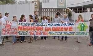 Médicos de Cuiabá entram em greve por tempo indeterminado