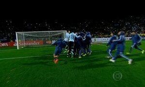 Argentina vence Colômbia nos pênaltis e está na semifinal da Copa América