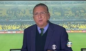 Galvão Bueno analisa a eliminação do Brasil