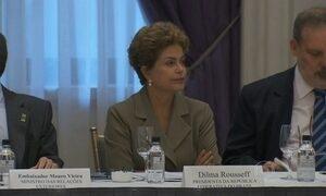 Presidente Dilma começa a visita aos EUA em busca de novos negócios e investimentos