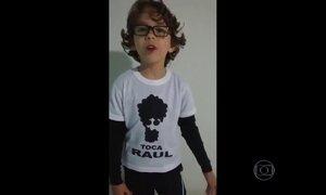 Telespectadores enviam vídeos e prestam homenagem a Raul Seixas