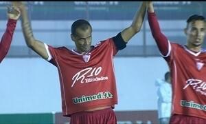 Mogi Mirim vence na volta de Rivaldo aos campos