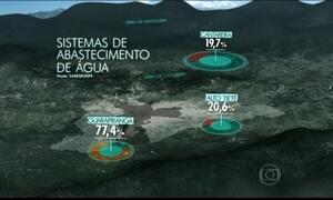 Sistema Cantareira, em SP, deve receber 39 mm de chuva até domingo (12)