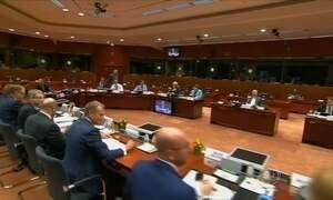Crise na Grécia divide a Europa em duas partes