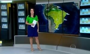 Tempo seco atinge grande parte do país