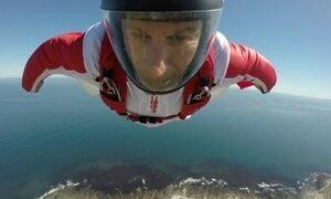 Luigi Cani refaz salto na África do Sul onde americano quase morreu