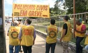 Policiais civis entram em greve no Maranhão